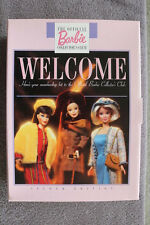 """1997 OFFICIAL BARBIE COLLECTOR'S CLUB MEMBERSHIP KIT W/""""GALLERY OPENING"""" FASHION"""