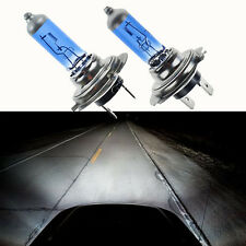 2pcs Xenon White Bright H7 55W 12V 6000K Gas Halogen Headlight Light Lamp Bulbs
