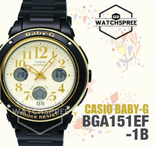 Casio Baby-G New Big-Face Design BGA-150 Series Watch BGA151EF-1B