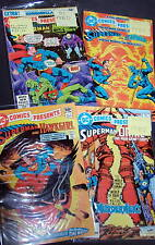 Lote de comics SUPERMAN -COMICS PRESENTS-6 numeros