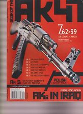 BOOK OF THE AK-47 2013, FROM HANDGUNS MAGAZINE, RARE.
