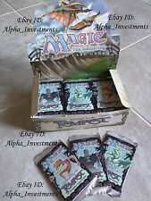3x Magic the Gathering 3 x Tempest x3 Booster Pack Factory Sealed MTG box
