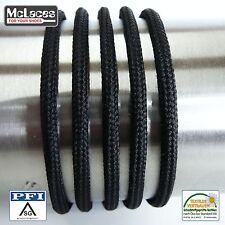 1 Paar schwarze, runde Schnürsenkel 80-200 cm für Arbeitsschuhe, Wanderschuhe