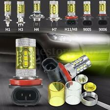 2x 60w H1 H3 H4 H11/H8 9005 9006 Samsung 2323 LED Fog Light Yellow Driving Lamp