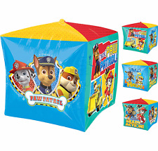 Paw Patrol CUBEZ Foil Balloon Birthday Party Supplies Decoration ~ Nick Jr