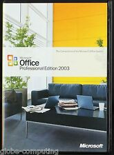 Microsoft Office 2003 Professional Edition inc Word Outlook Excel 269-06738