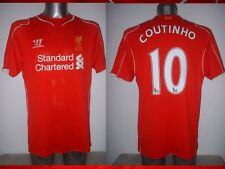 Liverpool COUTINHO Warrior Adult Large Football Soccer Jersey Shirt Brazil Top