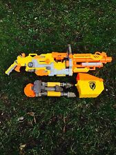 Nerf Havok Fire N-strike ammo box and tripod included Spares Or Repair