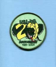 HSL-48 VIPERS 20th ANNIVERSARY US Navy Sikorsky Helicopter Squadron Jacket Patch