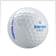 50 MINT BRIDGESTONE PRECEPT LADY WHITE USED GOLF BALLS AAAAA