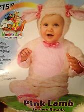 NWT Baby Lamb Costume/Fancy Dress/Photography Outfit Age 12-18 Mth Fur Jumpsuit