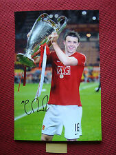 "MANCHESTER UNITED MICHAEL CARRICK HAND SIGNED 12""x18"" PHOTO- EXACT PROOF COA"