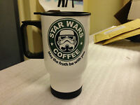 Star Wars White Travel Mug Various designs to Choose from . Can be personalised