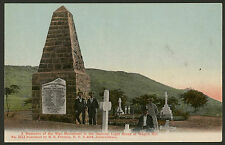 South Africa. Boer War. Monument to the Imperial Light Horse at Wagon Hill