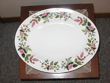 "WEDGWOOD BONE CHINA ENGLAND, DISC. HATHAWAY ROSE 14"" OVAL SERVING PLATTER"