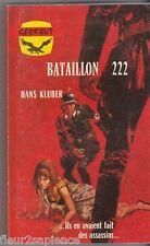 Bataillon 222 Hans Kluber