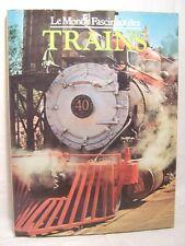 █ Le Monde Fascinant des TRAINS très illustré 1977 █
