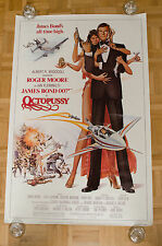Octopussy James Bond 007 Original Movie Poster 1983 US 1 Sheet 27x41 ROLLED RARE