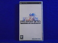 psp FINAL FANTASY TACTICS The War Of The Lions Playstation PAL REGION FREE