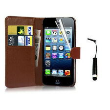 Magnetic Wallet Flip PU Leather Card Holder Case Cover for cellphone Accessories