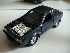 Scarce Mitsubushi Cordia Turbo in Blue on 1:28 (spare or Repair)