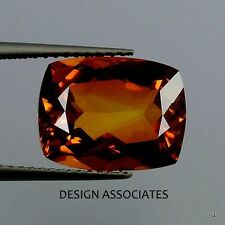 NATURAL MADEIRA CITRINE 12 X10 CUSHION CUT AAA