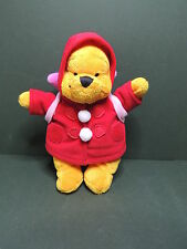 Winnie l'ourson peluche Plush 20cm Backpack porcinet Dinseyland paris Disney