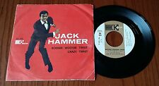 "JACK HAMMER - BOOGIE WOOGIE TWIST/CRAZY TWIST - 45 GIRI 7"" ITALY PRESS"