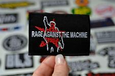 RAGE MACHINE Live 4 Ever Rebel Badge Metal Music Band Street Adult Iron On Patch
