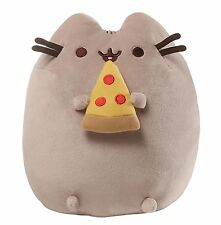 Pusheen The Cat - Pusheen With Pizza Plush Soft Toy *BRAND NEW*