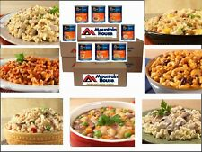 1 YEAR MOUNTAIN HOUSE FOOD ENTREES RESERVE #10 CANS CASES FREEZE DRIED SURVIVAL