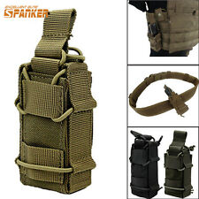 Tactical Hunting Molle Pistol Magazine Pouch Flashlight Holster Bag For Vest CB