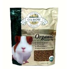 Oxbow BeneTerra All Life Stages GUINEA PIG Organic High-Fiber Food 3 pounds
