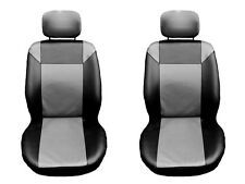 Ford Fiesta , Focus , Mondeo Front Seat Cover Leather GREY and Black