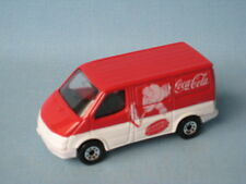 Matchbox Ford Transit Van Red Coca-Cola Coke Toy Model Van Hockey UB