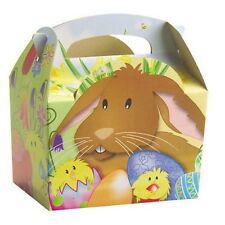 30 Easter Parade Egg Hunt Bunny Chick Carry Meal Bag Boxes ~ Kids Party Food Box