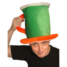 St Patrick's Day Novelty Beer Pint Tankard Fancy Dress Hat