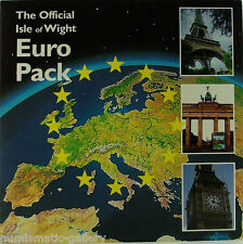 ISLE OF WIGHT 1998 5-COIN EURO MINT SET IN POBJOY MINT FOLDER