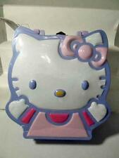 "2003 Sweet Hello Kitty Candy Tin Lunchbox Purse SEALED New 9"" x 6.75"" Orig Tag"
