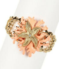MONIQUE LESHMAN UNDER THE SEA STRETCH BRACELET - CORAL NEW