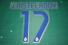 Real Madrid 06/07 #17 v. NISTELROOY Homekit Nameset Printing