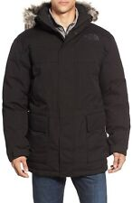The North Face Men Mcmurdo Parka II Waterproof Goose Down Coat Faux Fur Trim M