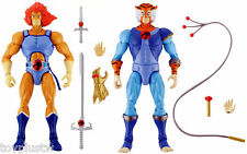 "NEW BANDAI THUNDERCATS CLASSIC COLLECTOR LION-O+TYGRA LOT 8"" 20CM ACTION FIGURE"