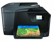 HP Officejet Pro 8710 Inkjet All-in-One Printer/Copier/Scanner/Fax Machine, New