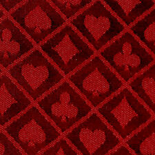 10FT X 5FT Red Two Tone Suited Speed Cloth Poker Table Felt 100% Polyester