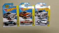 3 PICK UP TRUCKS Hot Wheels HW Off Road Ford F-150