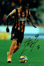 Abel HERNANDEZ Signed Autograph 12x8 Football Hull City Photo Genuine AFTAL COA