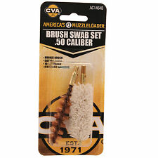 CVA Brush/Swab Set .50 Caliber Muzzleloading Tools AC1464B