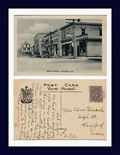 CANADA NOVA SCOTIA OXFORD MAIN ST POSTED 1934 TO EDNA RENWICK, SANFORD, MAINE