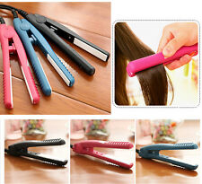 Portable Hair Styling Mini Ceramic Hair Straightener Iron Hairdressin Tools Hot